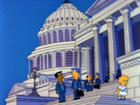 Лиза едет в Вашингтон :: Mr. Lisa Goes to Washington